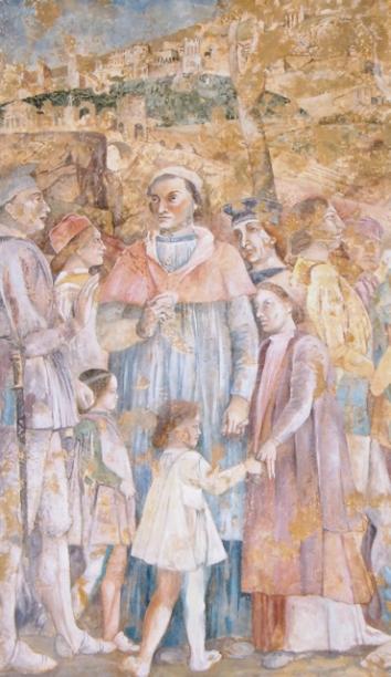 Fresco after Montagna, 250x120