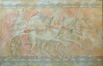 Fresco , the Etruscans. 210x120
