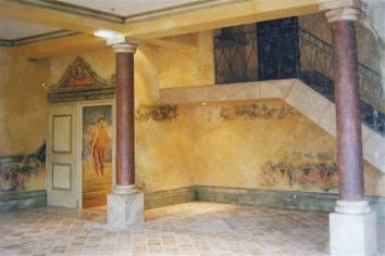 Les Fresques, the restaurant, Château des Vigiers