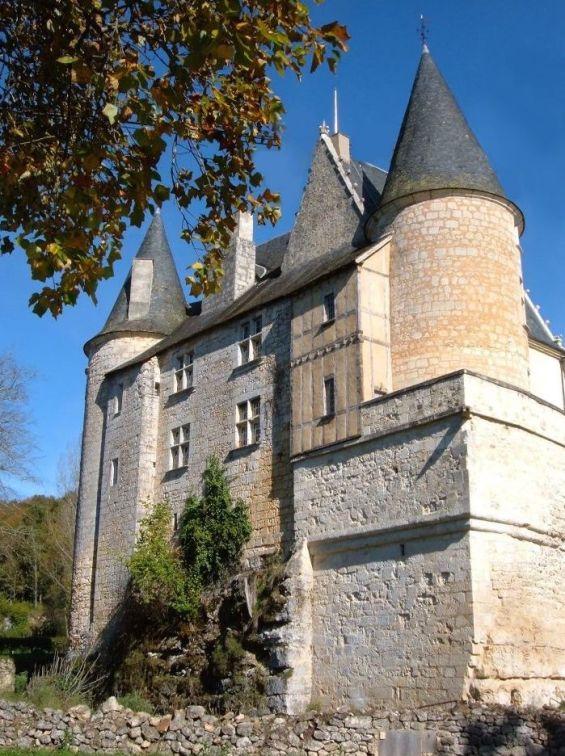 Chateau de Lamonzie Montastruc