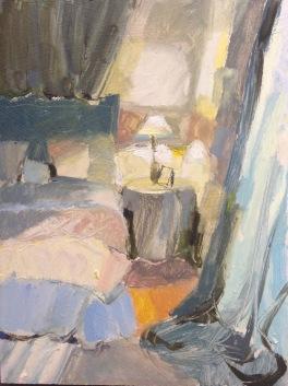 bedlamp: oil on board 24x30